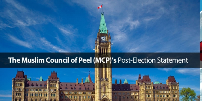 Muslim Council of Peel: Post-Election Statement